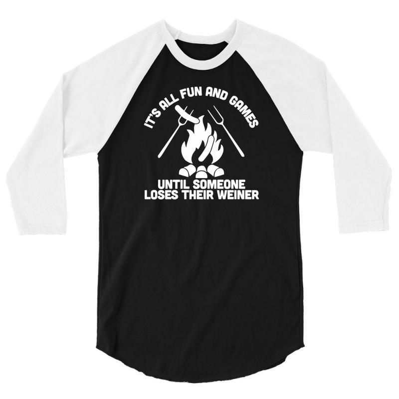Loses A Weiner 3/4 Sleeve Shirt   Artistshot
