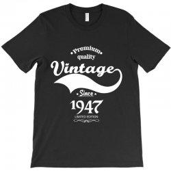 Premium Quality Vintage Since 1947 Limited Edition T-Shirt | Artistshot