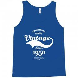 Premium Quality Vintage Since 1949 Limited Edition Tank Top | Artistshot