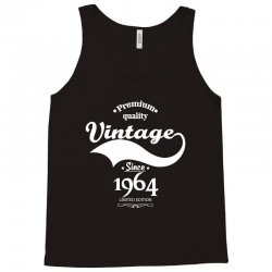 Premium Quality Vintage Since 1964 Limited Edition Tank Top | Artistshot