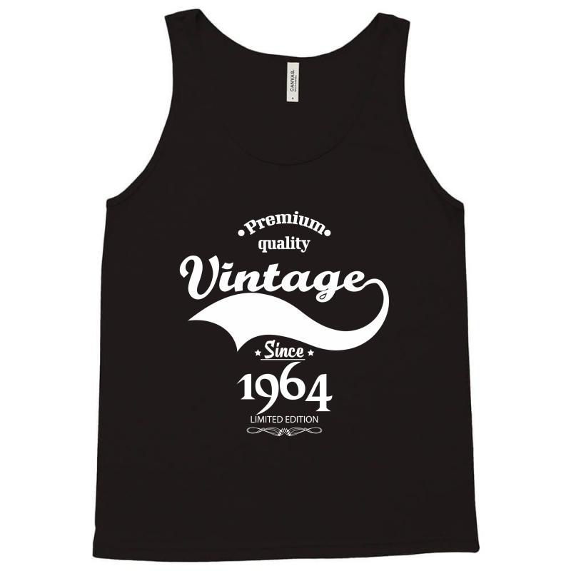 Premium Quality Vintage Since 1964 Limited Edition Tank Top   Artistshot