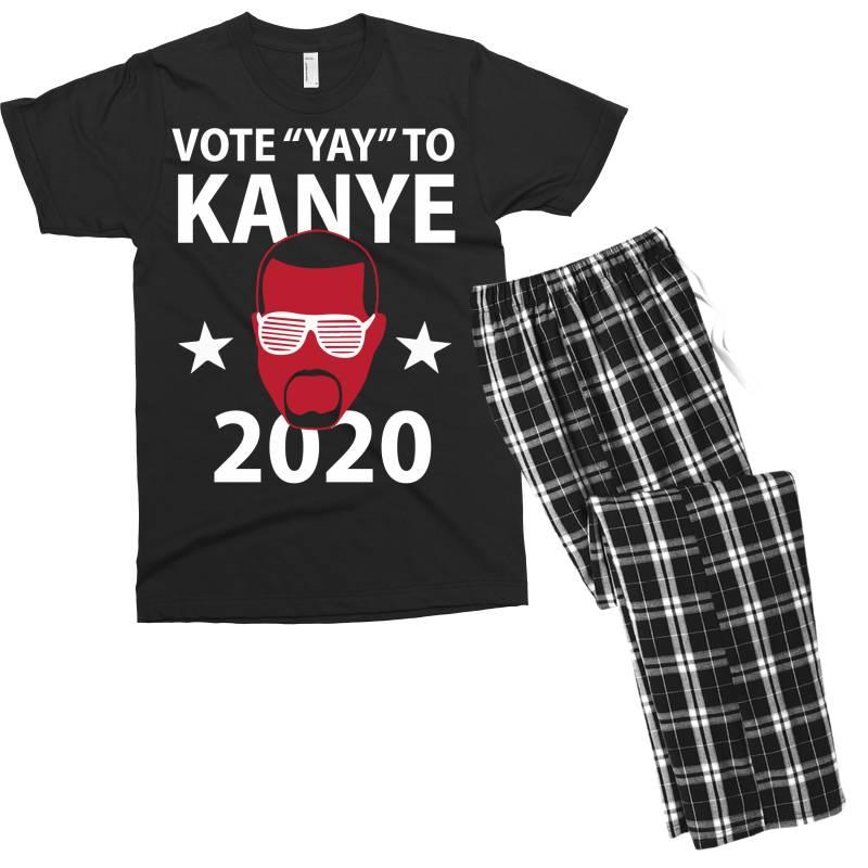 Kanye 2020 Men's T-shirt Pajama Set | Artistshot