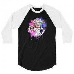 DADDY'S LIL MONSTER 3/4 Sleeve Shirt   Artistshot