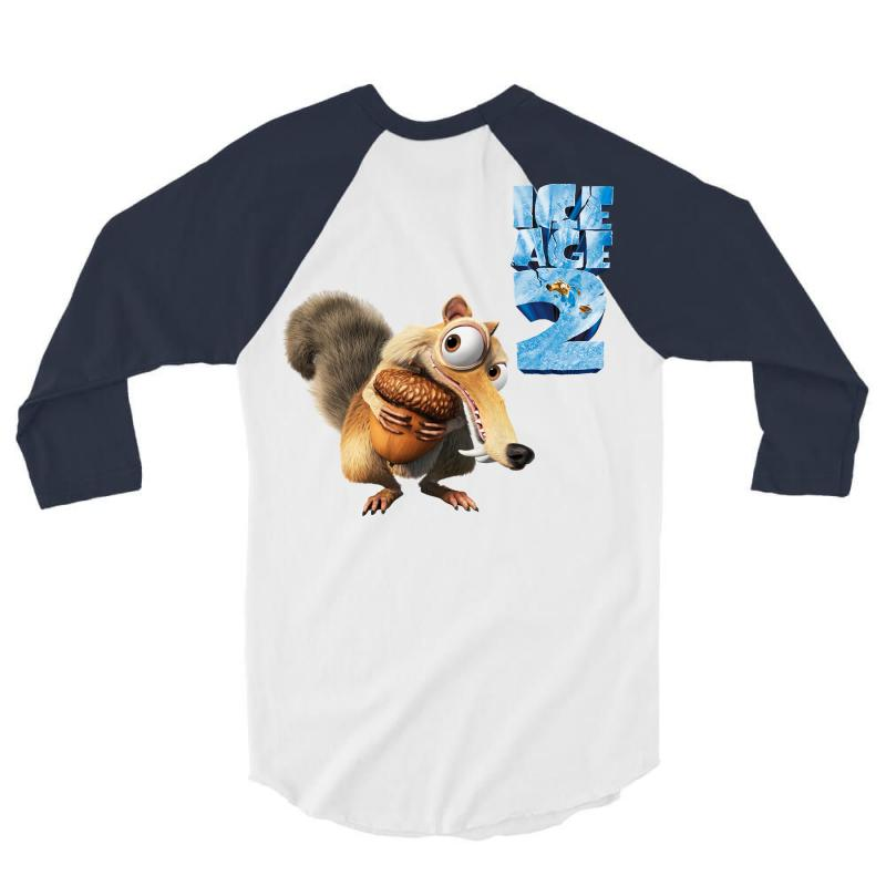 Ice Age 3/4 Sleeve Shirt | Artistshot