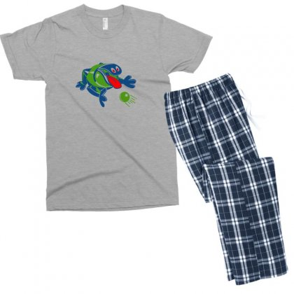 1960s Odd Ogg Men's T-shirt Pajama Set Designed By Yudyud