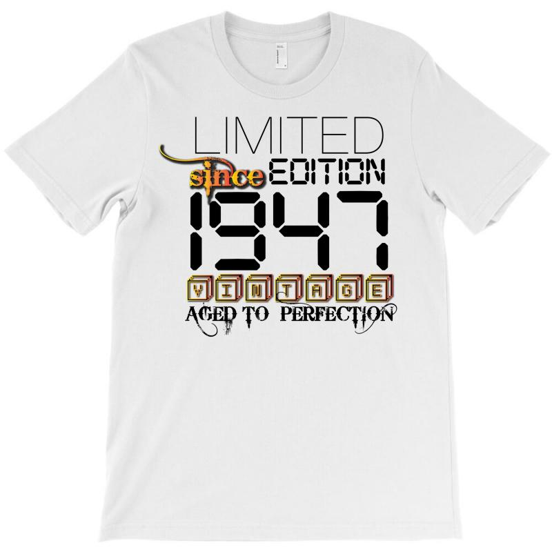 Limited Edition 1947 T-shirt | Artistshot