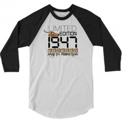 Limited Edition 1947 3/4 Sleeve Shirt | Artistshot