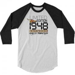 Limited Edition 1948 3/4 Sleeve Shirt   Artistshot
