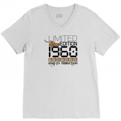 Limited Edition 1960 V-Neck Tee | Artistshot