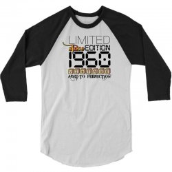 Limited Edition 1960 3/4 Sleeve Shirt | Artistshot