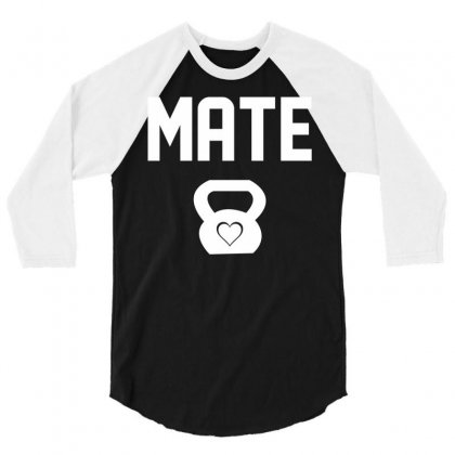 Mate 3/4 Sleeve Shirt Designed By Sabriacar