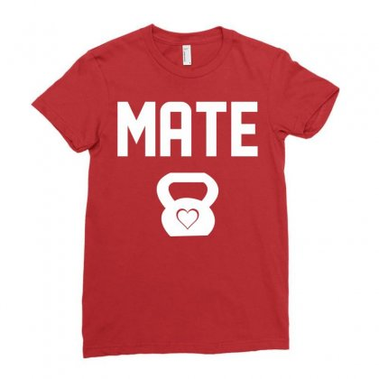 Mate Ladies Fitted T-shirt Designed By Sabriacar