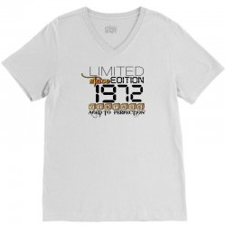 LIMITED EDITION 1972 V-Neck Tee | Artistshot