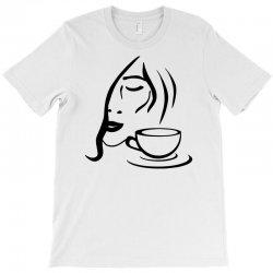 coffe girl T-Shirt | Artistshot