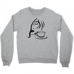 coffe girl Crewneck Sweatshirt | Artistshot