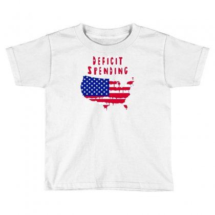 Deficit Spending America Toddler T-shirt Designed By Marla_arts