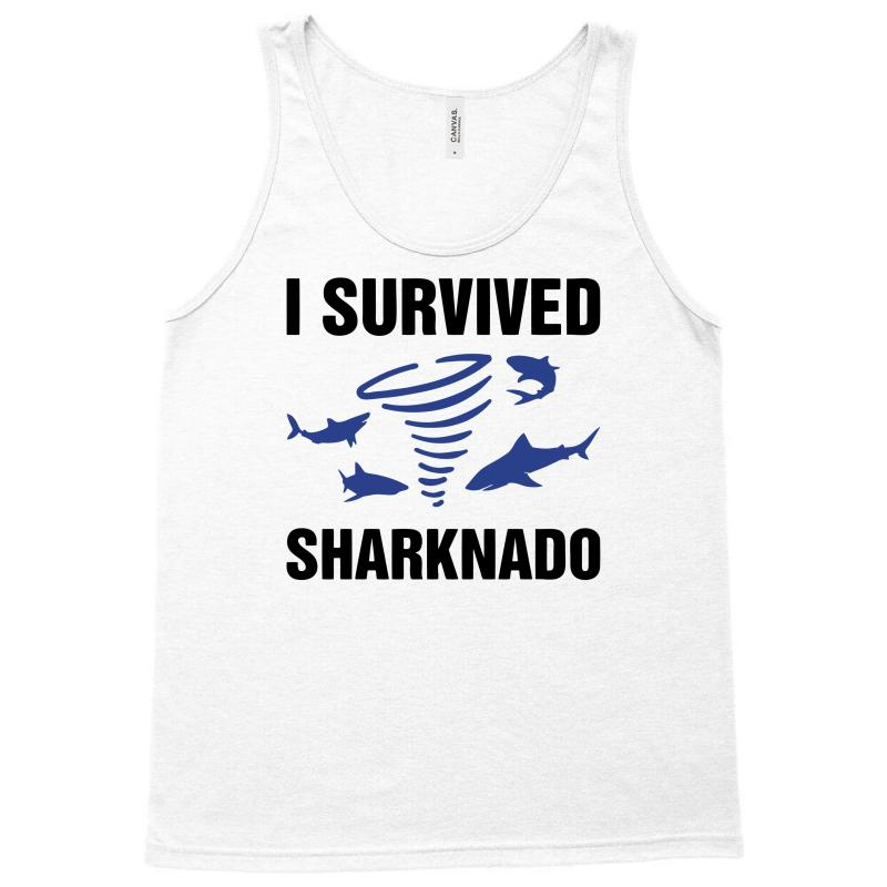 I Survided Sharknado Tank Top | Artistshot