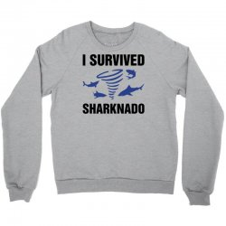 i survided sharknado Crewneck Sweatshirt | Artistshot
