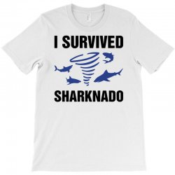 i survided sharknado T-Shirt | Artistshot