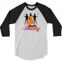 bride security 3/4 Sleeve Shirt | Artistshot