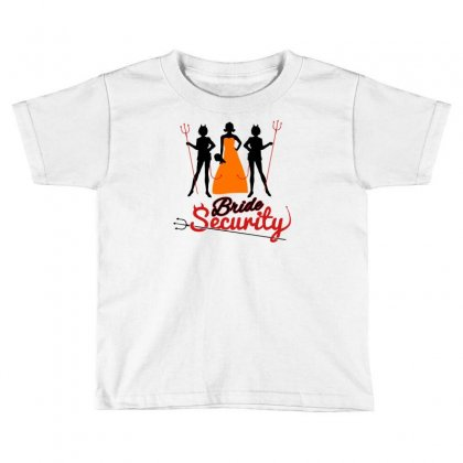 Bride Security Toddler T-shirt Designed By Marla_arts