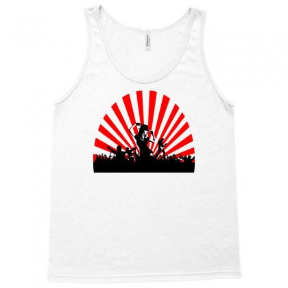 Concert Scene With Dancing People Tank Top Designed By Marla_arts