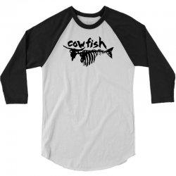 cow fish skeleoton 3/4 Sleeve Shirt | Artistshot