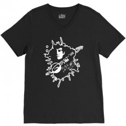 guitar music V-Neck Tee | Artistshot