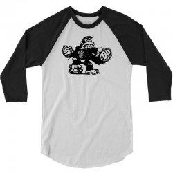 king kong sketch 3/4 Sleeve Shirt | Artistshot