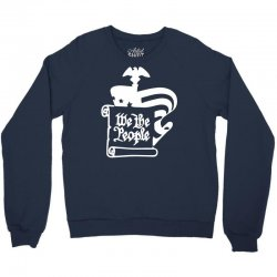 usa constitution scroll and flag Crewneck Sweatshirt | Artistshot