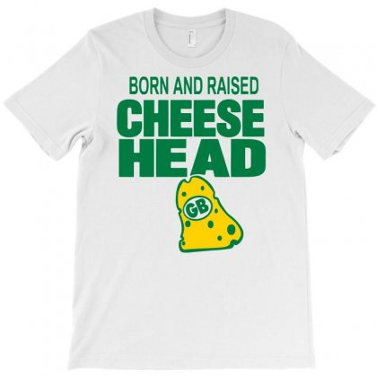 Born And Raised Cheesehead T-shirt Designed By Marla_arts