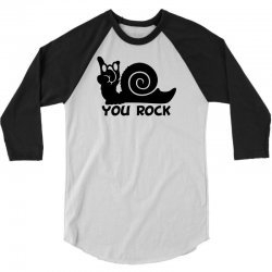 rockin snail 3/4 Sleeve Shirt | Artistshot