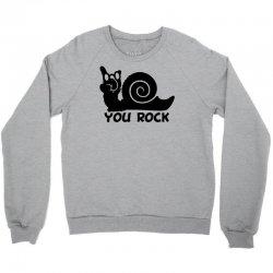 rockin snail Crewneck Sweatshirt | Artistshot