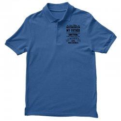 Dear Father, Love, Your Favorite Men's Polo Shirt   Artistshot