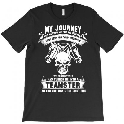 My Journey Teamster T-shirt Designed By Marla_arts