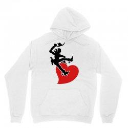 cowboy riding a wild heart Unisex Hoodie   Artistshot