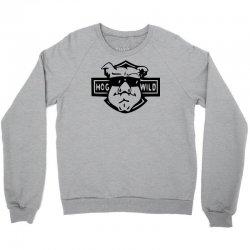 hog wild retro Crewneck Sweatshirt   Artistshot