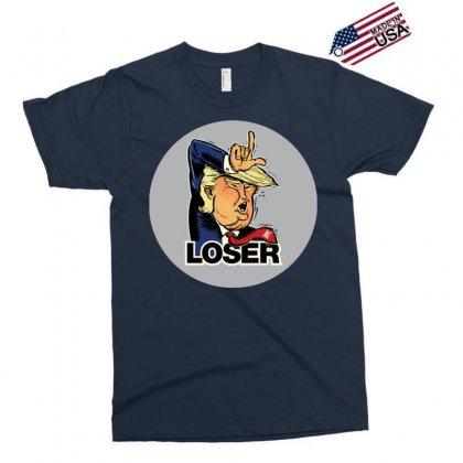 Donald Trump Loser Exclusive T-shirt Designed By Mdk Art