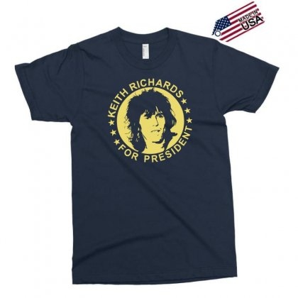 Keith Richards For President Exclusive T-shirt Designed By Hezz Art