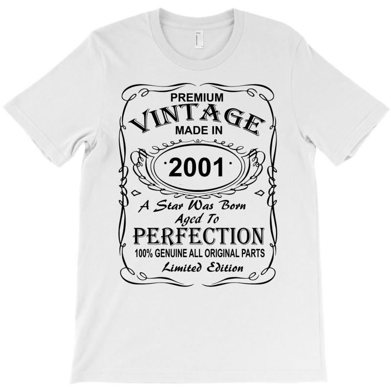 Birthday Gift Ideas For Men And Women Was Born 2001 T-shirt | Artistshot