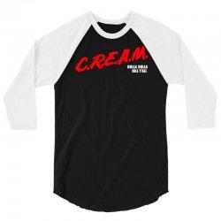 cream dare wu tang 3/4 Sleeve Shirt | Artistshot