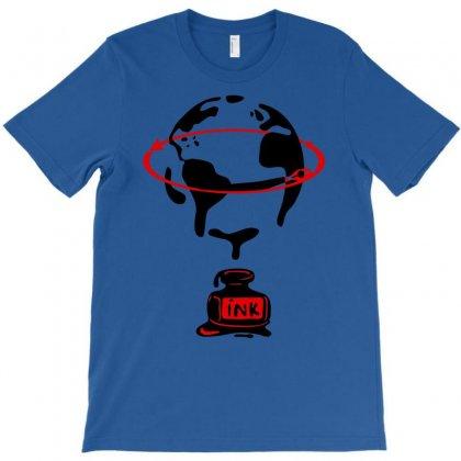 Around The World T-shirt Designed By Marla_arts