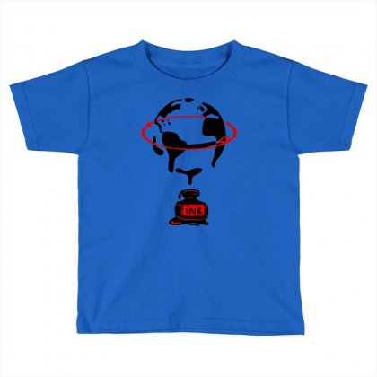 Around The World Toddler T-shirt Designed By Marla_arts