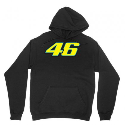 46 Rossi Unisex Hoodie Designed By Branded