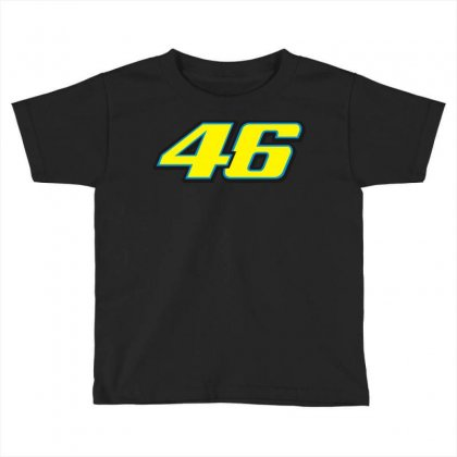 46 Rossi Toddler T-shirt Designed By Branded