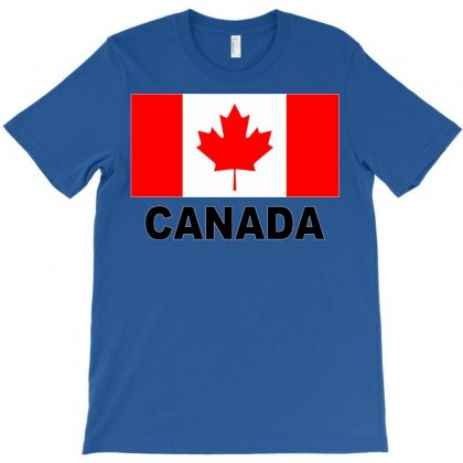 Canada Flag T-shirt Designed By Mdk Art