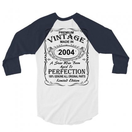 2004 3/4 Sleeve Shirt Designed By Killakam