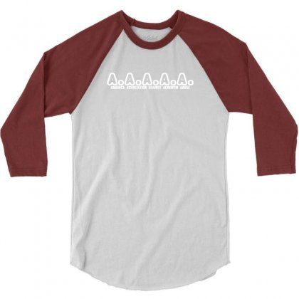 A A A A A  America Association Against Acronym Abuse 3/4 Sleeve Shirt Designed By Deomatis9888