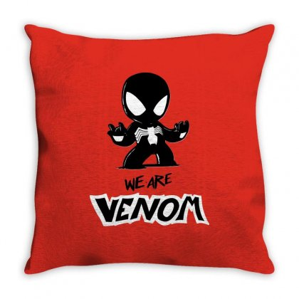 We Are Venom Throw Pillow Designed By Sbm052017