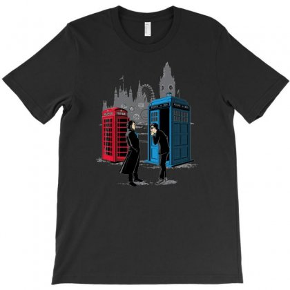 Cabins Collide T-shirt Designed By Wedoksaro